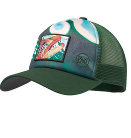 Buff Buff DY Brown Callibaetis Trucker Cap