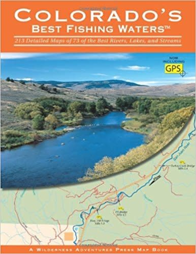 Anglers Book Supply Best Fishing Waters: Colorado New Edition - Soft Cover