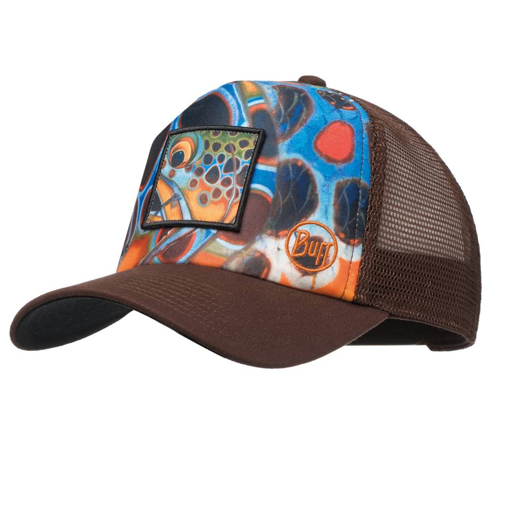 Buff Buff DY Brown Mosquito Trucker Cap