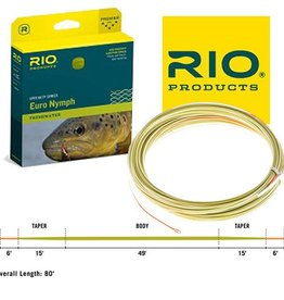 Rio Products Intl. Inc. FIPS Euro Nymph Fly Line
