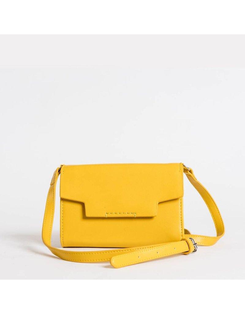 Christopher Kon HX05631 Leather Xbody Yellow