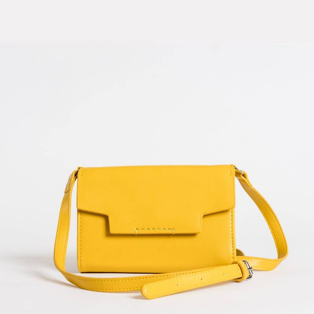 Christopher Kon HX05631 Leather Xbody Yellow