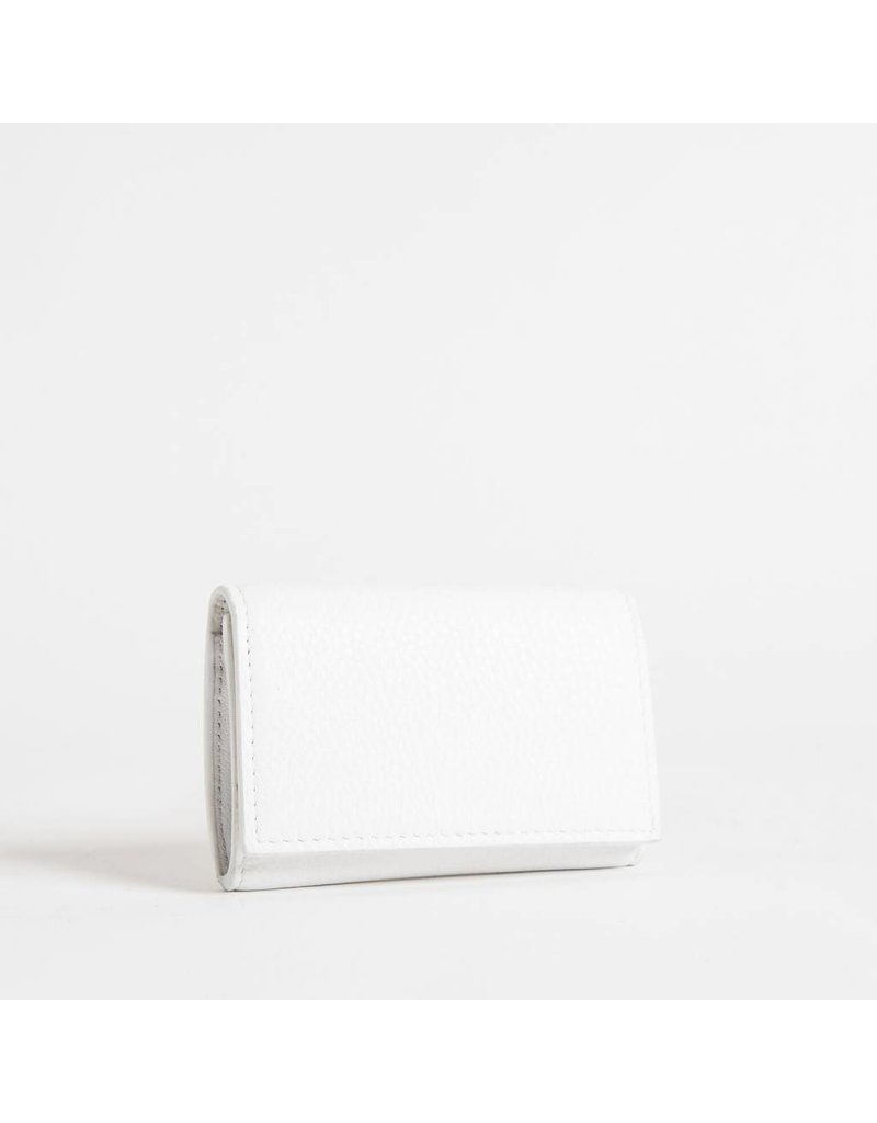 Christopher Kon HX05667 Leather Coin Purse White