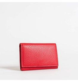 Christopher Kon HX05667 Leather Coin Purse Red
