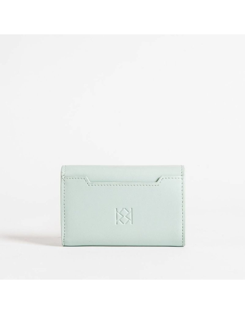 Christopher Kon HX05668 Leather CC Case Mint