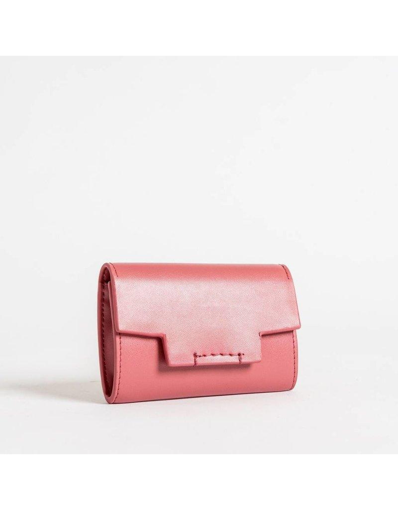 Christopher Kon HX05668 Leather CC Case Dusty Rose
