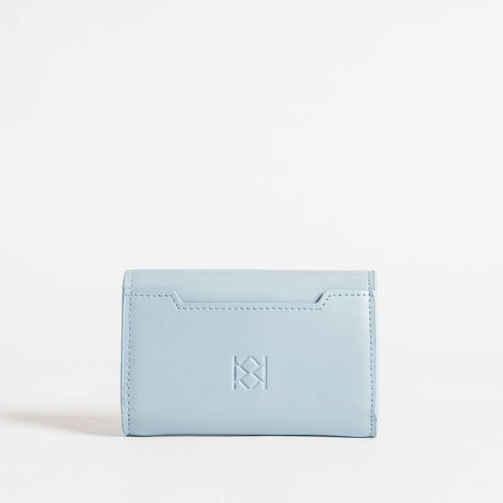 Christopher Kon HX05668 Leather CC Case Blue