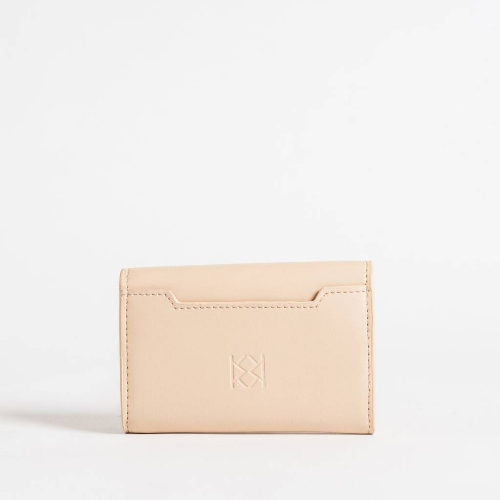 Christopher Kon HX05668 Leather CC Case Nude