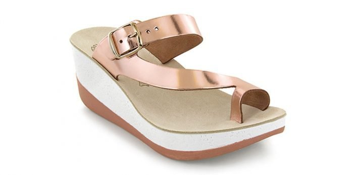 Fantasy Sandals Falisa Rose Gold