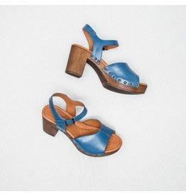 Ten Points Ten Point Eva Ankle Strap Peek Toe Blue