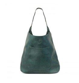Joy Susan Molly Slouchy Hobo Handbag Dark Teal