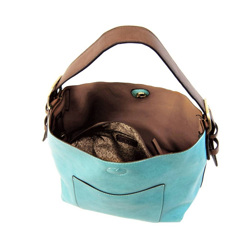 Joy Susan Joy Susan Molly Classic Hobo Handbag Teal