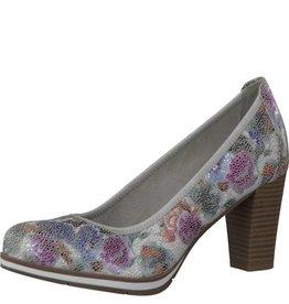 Jana Jana White Flower Heel