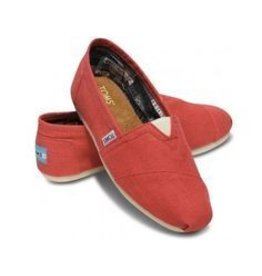 TOMS TOMS Coral Canvas