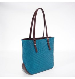 S.Q S.Q Wendy Quilted Tote Teal