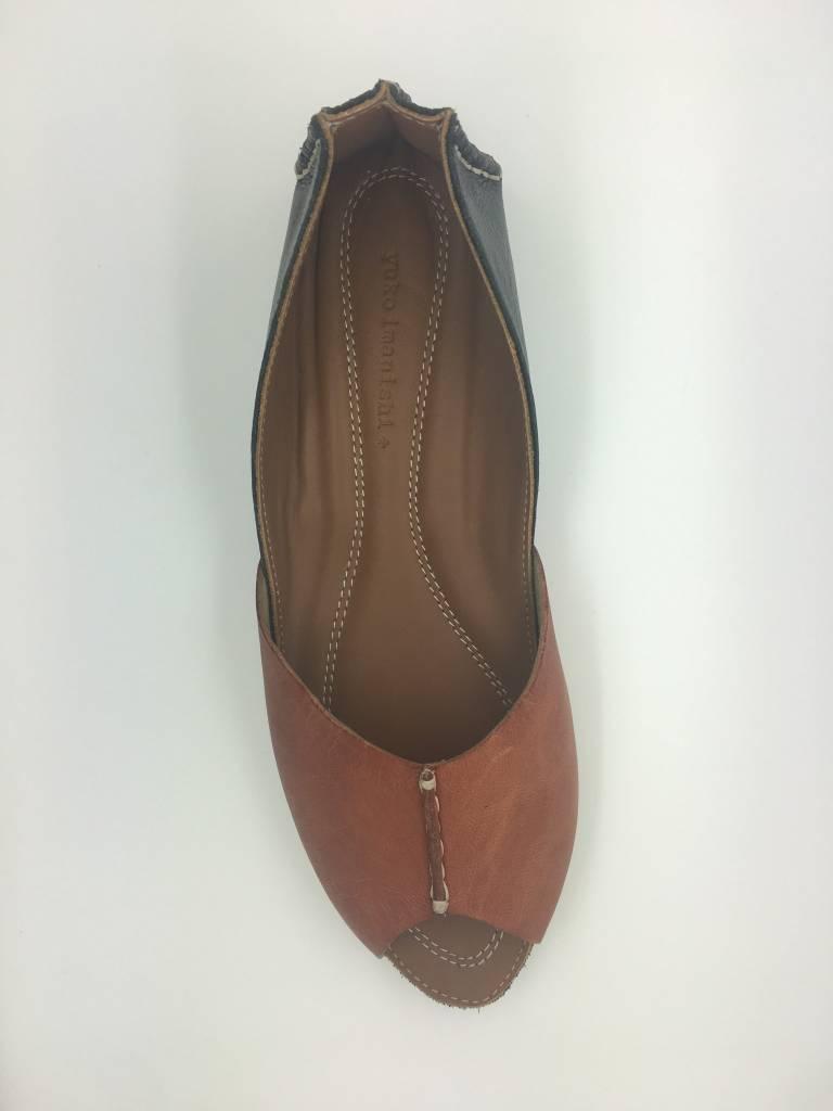 Yuko Imanishi 76200 Open Toe Black/Brown