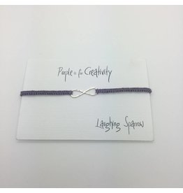 Laughing Sparrow Laughing Sparrow Silver Infinity Purple 400 05 33