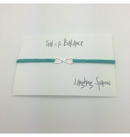 Laughing Sparrow Laughing Sparrow Silver Infinity Teal 400 07 33