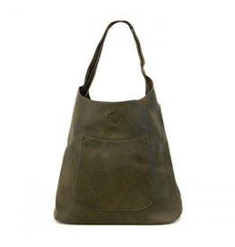Joy Susan Molly Slouchy Hobo Handbag Olive