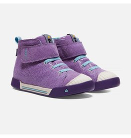 Keen Child Encanto Scout High Top Purple Plumeria