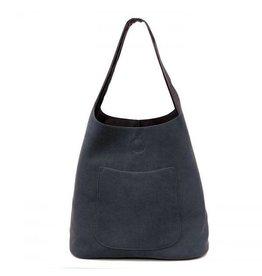 Joy Susan Molly Slouchy Hobo Handbag Dark Navy