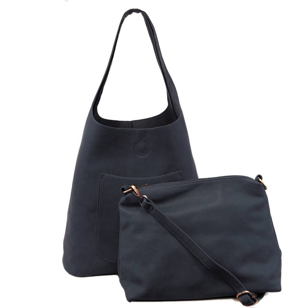Joy Susan Joy Susan Molly Slouchy Hobo Handbag Dark Navy