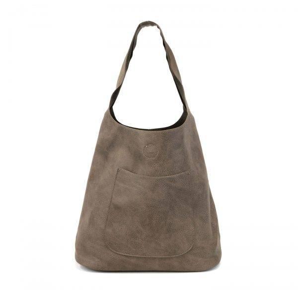 Joy Susan Joy Susan Molly Slouchy Hobo Handbag Dark Flax