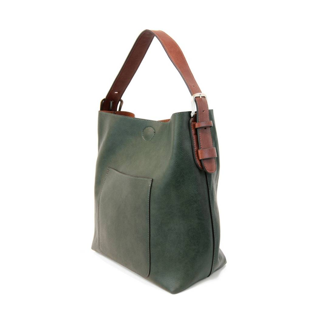 Joy Susan Joy Susan Molly Classic Hobo Handbag Deep Forrest