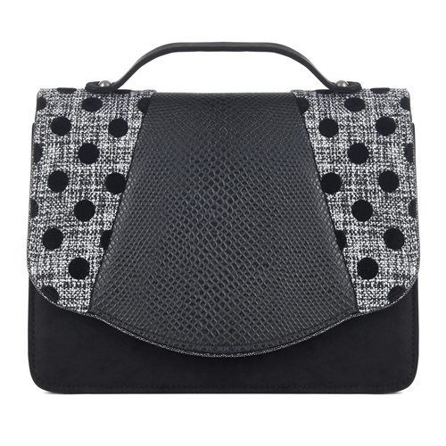 Ruby Shoo Ruby Shoo Daisy Black Spots Purse