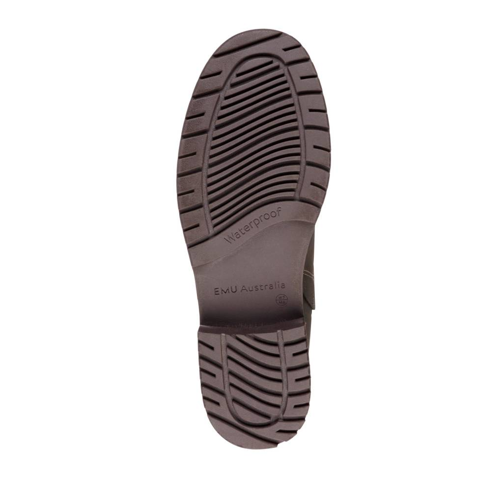 EMU Emu Pioneer Waterproof Leather Charcoal