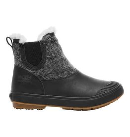 Keen Womens Elsa Chelsea WP Black Wool