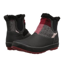 Keen Womens Elsa Chelsea WP Red Dahlia Wool