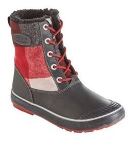 Keen Womens Elsa Boot WP Red Dahilia/Plaid