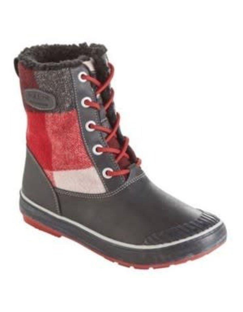 Keen Keen Womens Elsa Boot WP Red Dahilia/Plaid