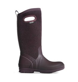 BOGS Womens Crandall Wool Plum