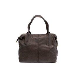 Joy Susan Joy Susan Oversized Satchel Handbag Brown