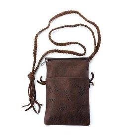 Manitobah Mukluk Grain Shoulder Bag