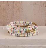 Pink House Pink House Mini Sequin Elastic Bracelet