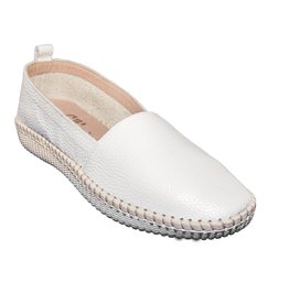 Volks Walkers Slip On White