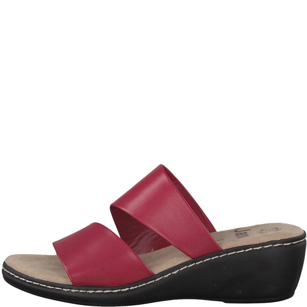 Jana Jana Slide Wedge Red