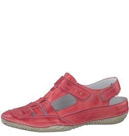 Jana 7989 Leather Open Back Shoe