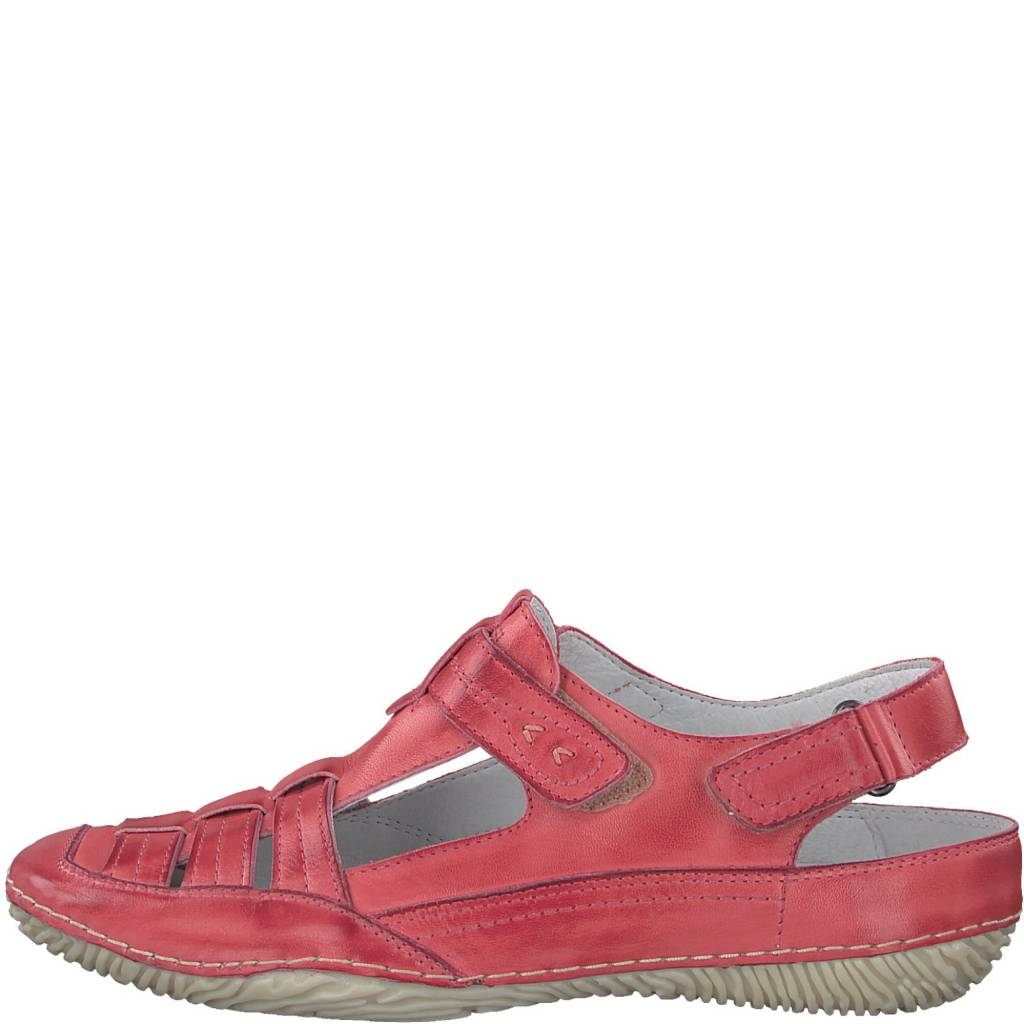 Jana Jana 7989 Leather Open Back Shoe
