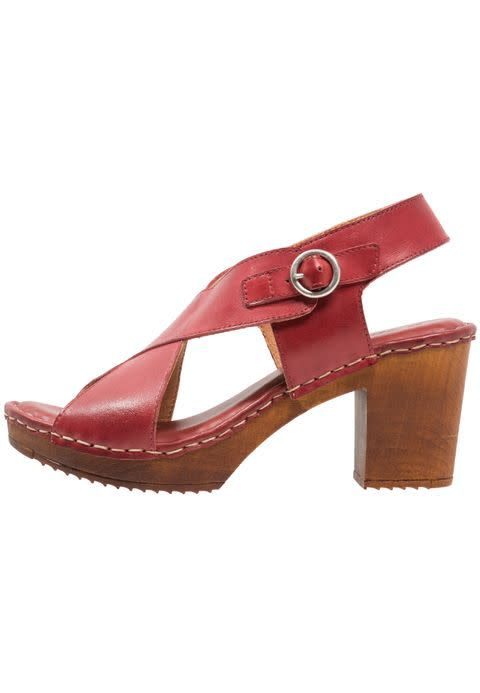 Ten Points Ten Points Amelia Brushed Leather Clog