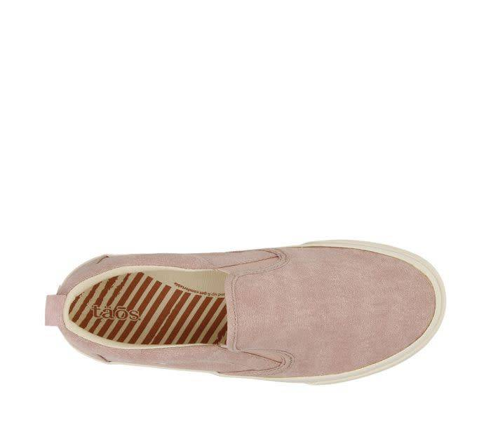 Taos Footwear Taos Rubber Soul Slip On Pink