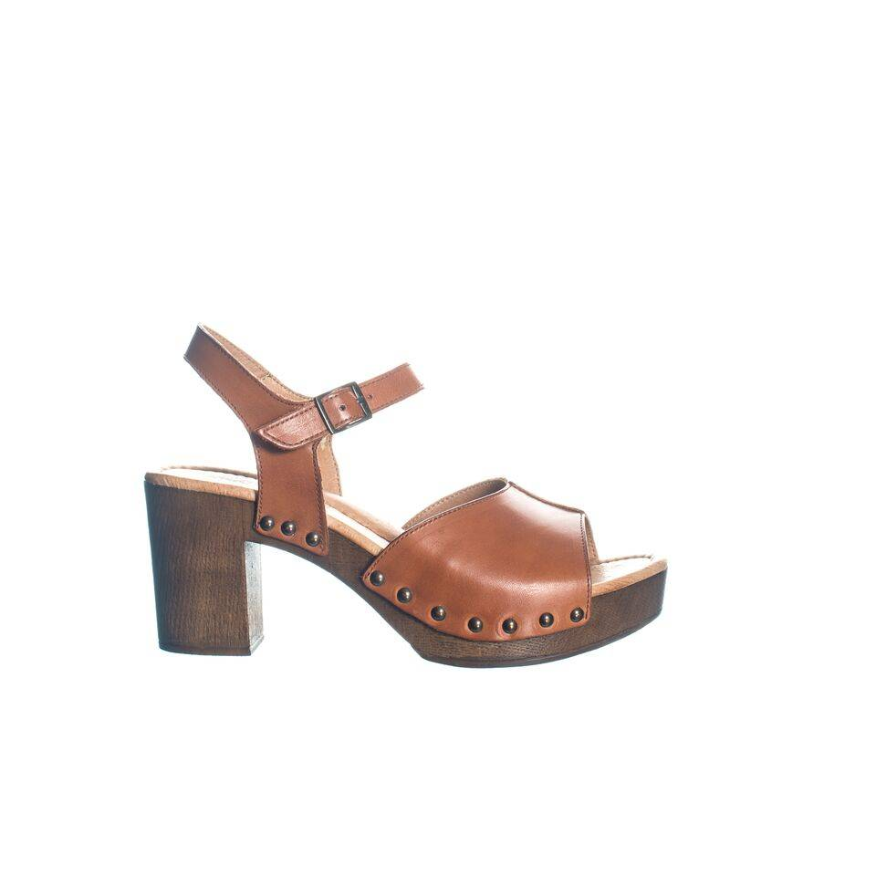 Ten Points Ten Points Eva Brushed Leather Clog