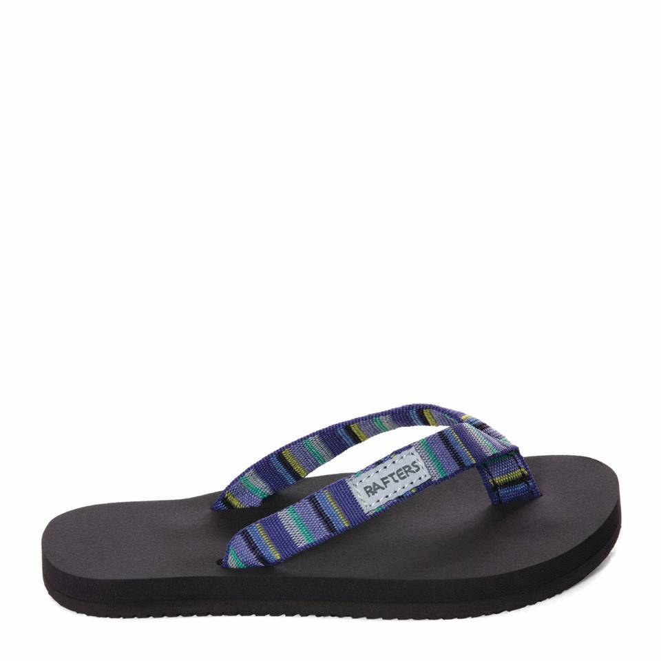 Rafters Youth Aruba Skinny Strap Flip Violet