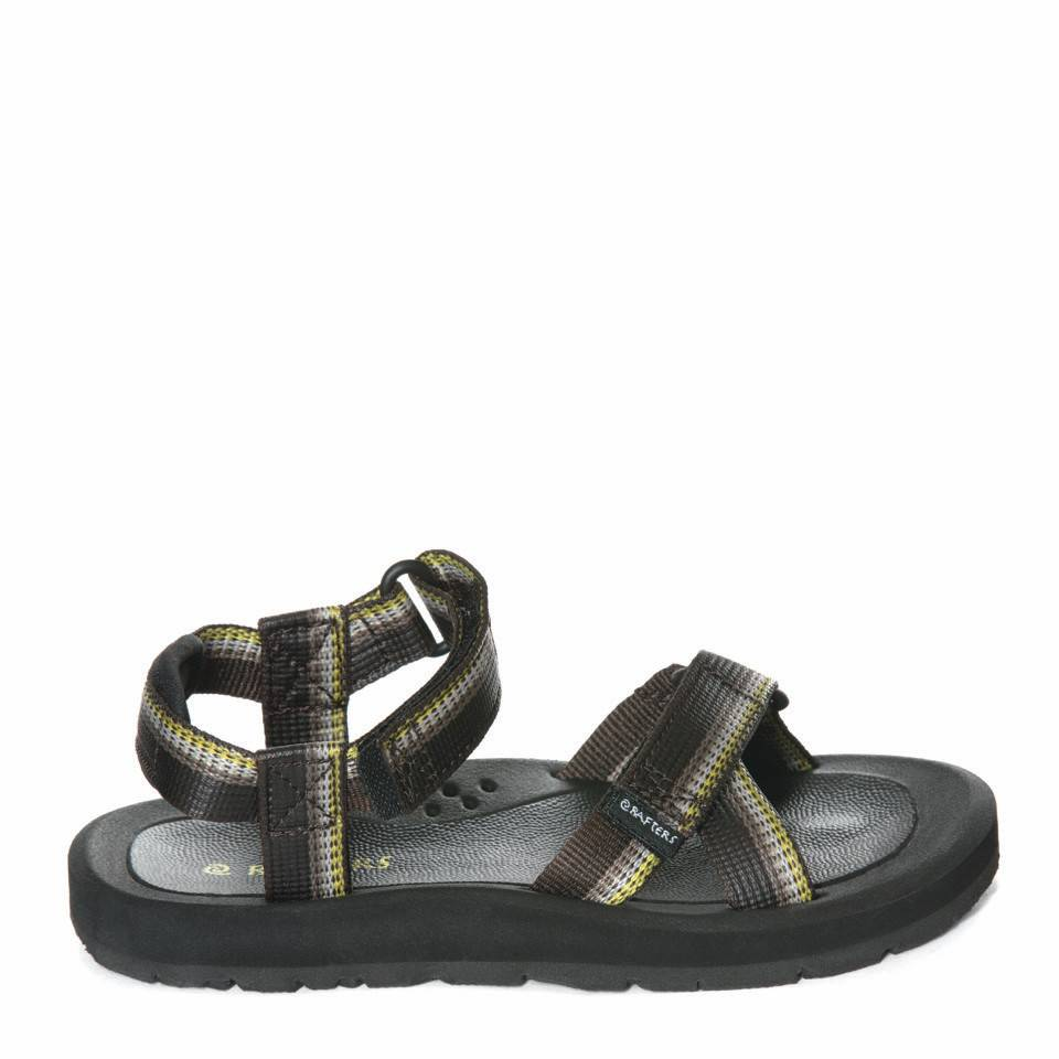 Rafters Kids Vibe Sandal Brown Multi