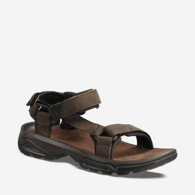 TEVA Teva Men's Terra FI4 Leather Sandal