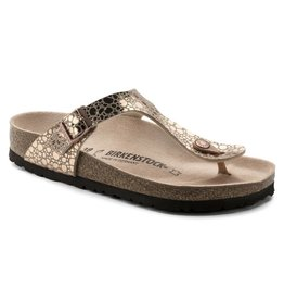 Birkenstock  1005674 Women's Gizeh Metallic Stones CopperBF