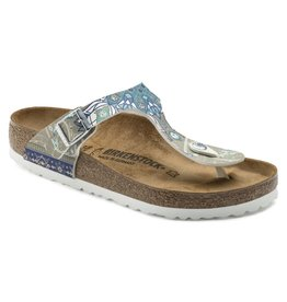 Birkenstock 1009806 Women's Gizeh Ancient Mosaic Taupe BF
